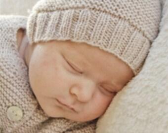 Baby boy hat Baby girl hat Unisex baby hat  Baby beanie Handknit hat Merino wool Preemie hat Newborn hat Baby shower gift Baby clothes