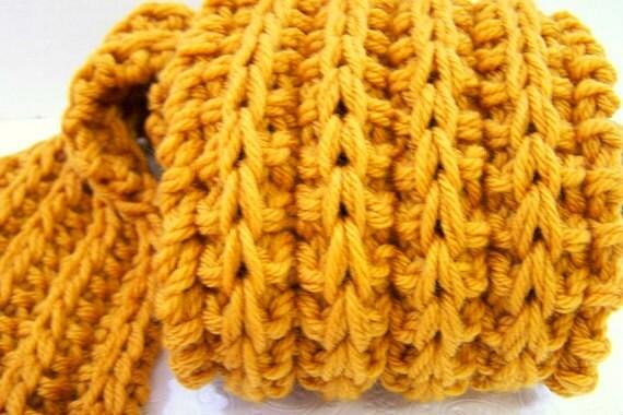 Longue charpe de laine m rinos lavable longtemps chunky - Grosse echarpe en laine ...