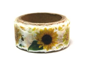 New Yano design Yellow flower series Autumn 2014 washi tape 20mm x 5M