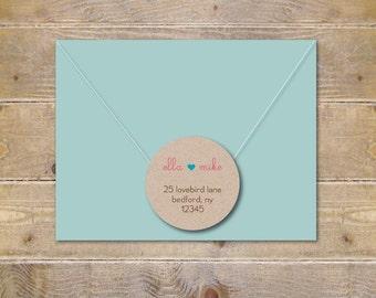Wedding Address Labels, Bridal Shower Address Labels, Save The Date Address Labels, Return Address Labels, Labels For Wedding Invitations