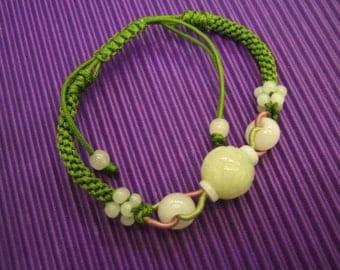 LUCKY MONEY / Jade Bracelet / Handknotting Jewelry