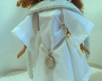 SALE Medieival Necklace or Belt Fashion Doll size