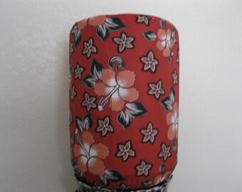 Hibiscus Dispenser Cover- 5 gallon Bottle Cover Standard Size