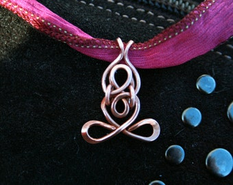 yoga, mini Little Yogi ©, lotus, padmasana, heart, meditation, love, artisan, copper, indie artist-yoga gifts, mudra, Lemurian Diamond, Bibi