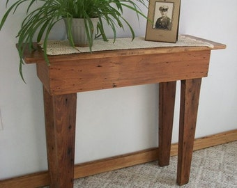 Reclaimed wood -Fremont Sofa Table [TC76-3]