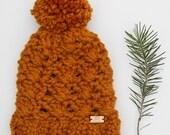WILDWOOD BEANIE | chunky winter pom pom beanie