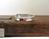 Stacking Silver Spinner Ring