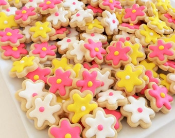 Mini Flower Cookies (1 pound)