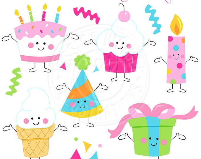 december birthday clipart