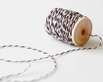Baker Twine Strings - Brown (25 yards)