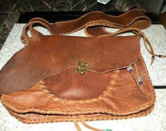 buffalo leather bag