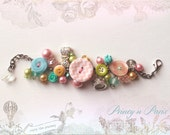 Lovely Princess, kids Matilda Jane button bracelet