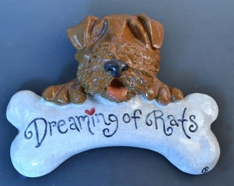 Cute Whimsical Dog, Cat, Pet, Plaque, Perfect Welcome Sign for Outdoor, 100% Custom, Any Animal, Any Saying