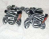50 Percent Off, Was 7 Dollars, Big Sale Day, Zebra Stuffed Animal Ty Beanie Babie Ziggy the Zebra 1995 Vintage Beanie Babie