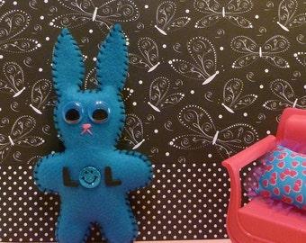 Stuffed animal bunny for a girl stocking stuffer gift
