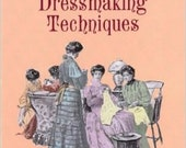 Authentic VICTORIAN dressmaking techniques by Kristina Harris Patterns sewing Handmade