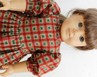 American Girl doll dress, school dress
