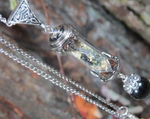 Protection Amulet, Protection Necklace, Talisman Necklace, Witch Bottle, Psychic Attack, Energy Vampire, Evil Eye Pendant, Witchcraft