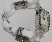 Treasures Interchangeable Beaded Bracelet Watch Band