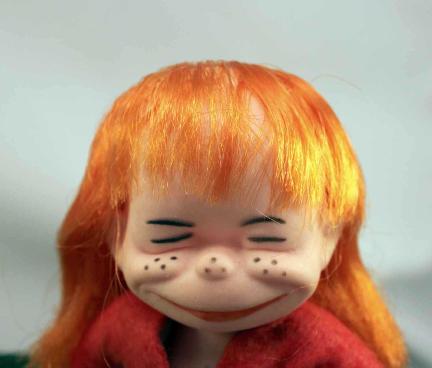 Ugly Brat Doll Funny Freckle Faced Red Hair Collectible