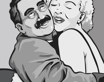 Groucho Marx 8x10 Print
