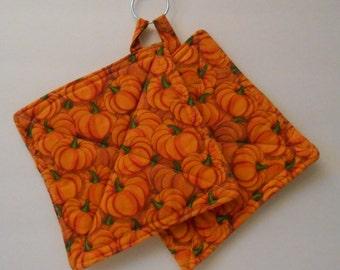 Hot Pad, Pumpkin Farm, unique gifts kitchen accessory, hot food,oven mitt, cotton fabric handmade hot pad, trivit, cooking items,  baking, 3