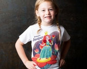 Princess Shirt, Personalized Girl's Princess Birthday Party T-Shirt