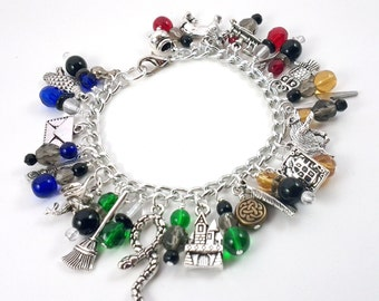 Welcome to Hogwarts Charm Bracelet