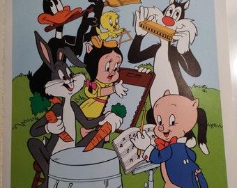 Vintage Looney Tunes Poster