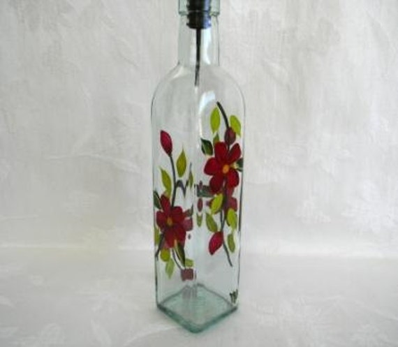 Oil Decanter Oil Bottle Soap Dispenser Glass By