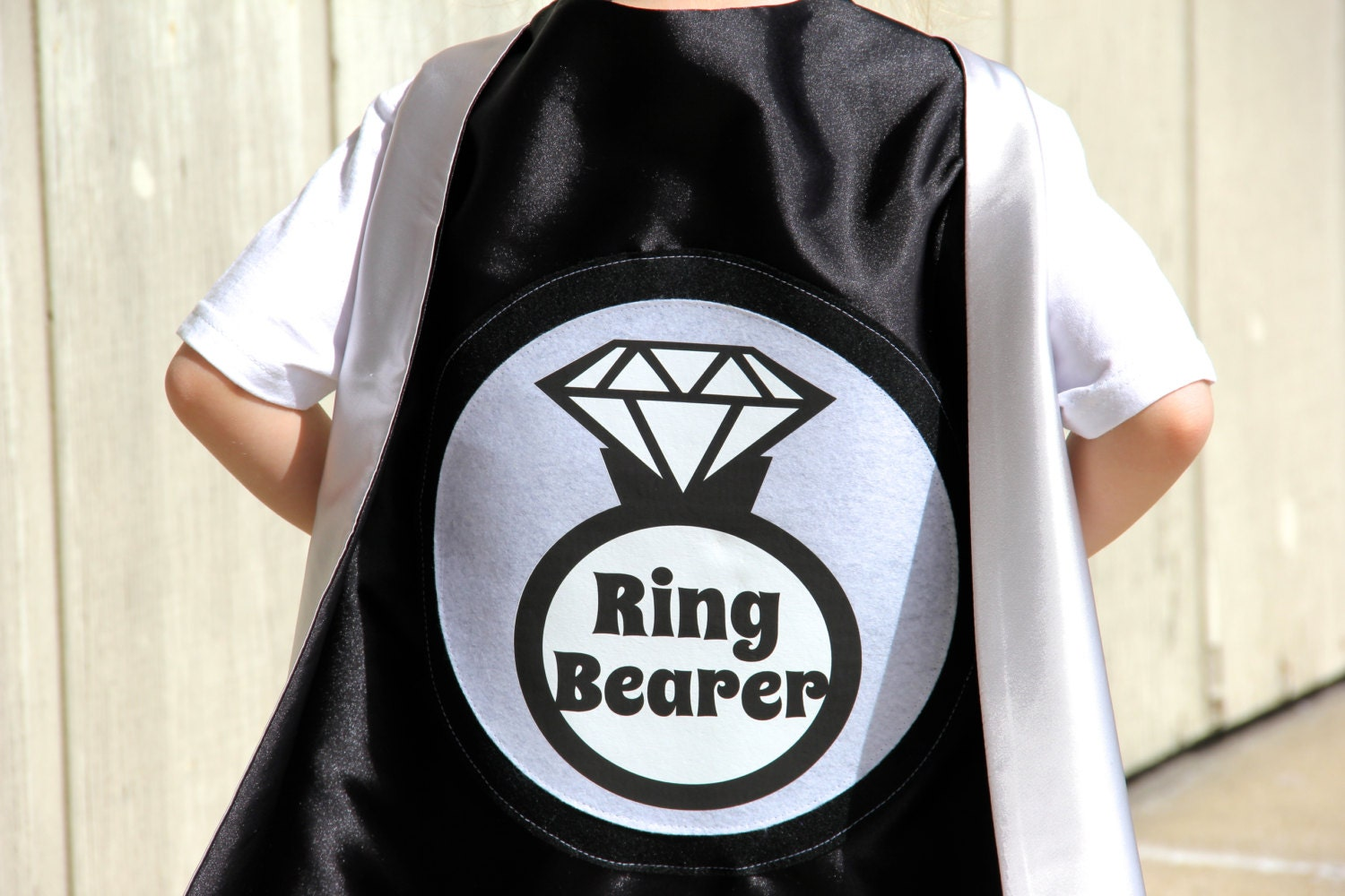 ring bearer gift ring bearer or flower cape unique