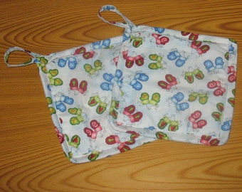 Snow Mittens Set of 2 Potholders