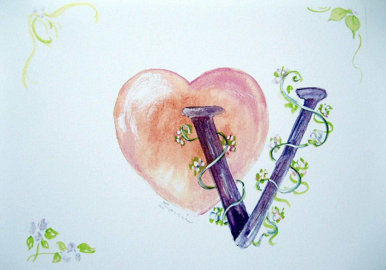 Wall Decor Letter V : Watercolor print nursery wall art letter v pink