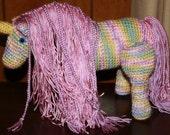 Crochet Stuffed Unicorn