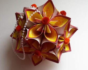 Kusudama Star flowers