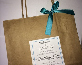 Wedding Welcome Bag Hotel Guest Destination Bags