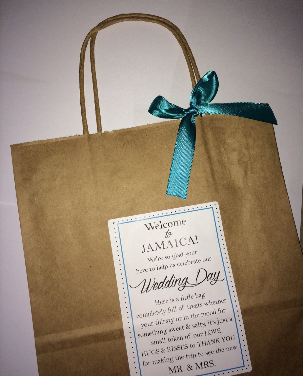 Wedding welcome bag hotel guest bag destination wedding bags for Destination wedding gift bags
