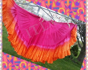 Custom Handdyed Double Dipped 25yd Skirt
