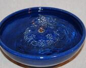"Cat Fountain - Pet Fountain - Indoor Fountain - 9.5 Inch Diameter ""April Asters"""