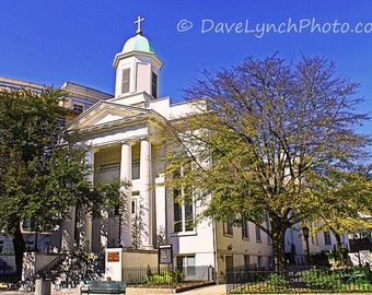 St. Peter's Church circa 1850 - Richmond VA -  Art Photography Print by Dave Lynch - Free Shipping on additional purchase