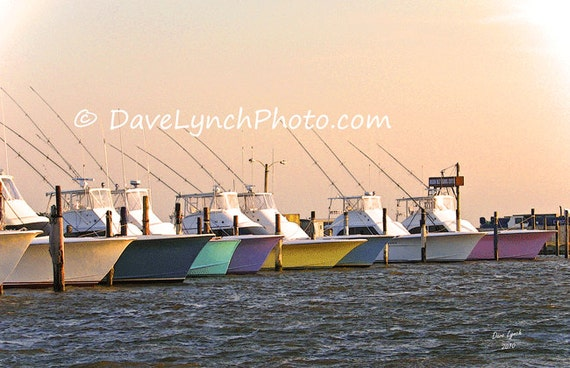 Fishing boats oregon inlet obx nags head nc fine art by for Fishing in richmond va