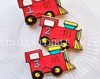 Train Cookies (1 Dozen)