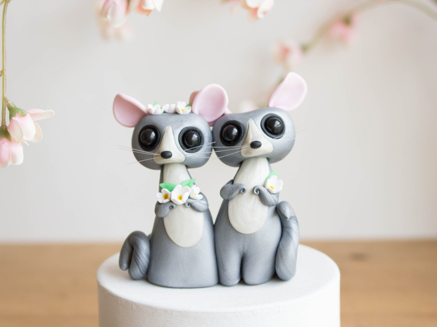 Bush Baby Mouse Lemur Wedding Cake Topper by by ...