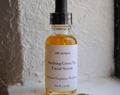 Facial Serum with Green Tea, Rosehip oil and Olive Squalane