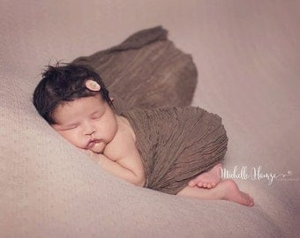 Toffee Brown Cheesecloth Baby Wrap Cheese Cloth Newborn Photography Fabric