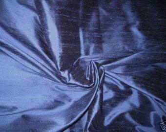 "Periwinkle Blue 100% Dupioni Silk Fabric Wholesale Roll/ Bolt 55"" wide"