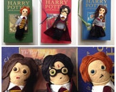 Custom mini doll Harry potter plush figure
