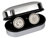 Tin Year Wedding Gift for Men- 2006 Coin Cufflinks- 10th anniversary gift for man- 100% satisfaction guarantee