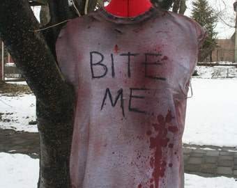 The Walking Dead - Bite Me Shirt - Daryl Dixon