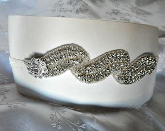 Prom garter, Great Gatsby,  Bridal garter, Wedding,, party's Bridal or prom